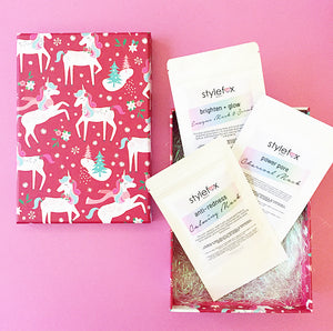 STYLEFOX® BEAUTY Mask Trio Holiday Gift Set - STYLEFOX®