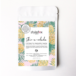 STYLEFOX Beauty Skin-a-Colada Coconut & Pineapple Mask - STYLEFOX®