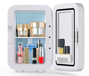 PRE-SALE: Limited Edition STYLEFOX Rose Gold Marble Skincare Mini Fridge - STYLEFOX®