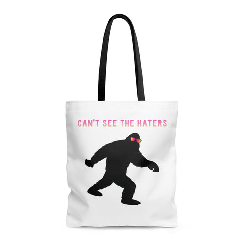 Can't See The Haters Bigfoot Tote - STYLEFOX®