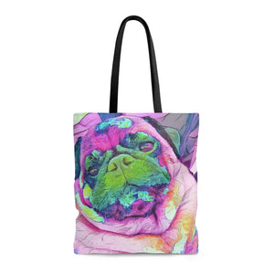 Otis R. Puglife Pop Art Tote - STYLEFOX®