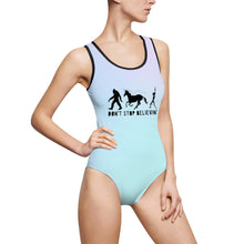 STYLEFOX® Don't Stop Believin' Women's Classic One-Piece Swimsuit - STYLEFOX®