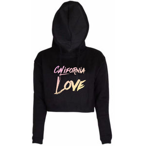 California Love Cropped Hoodie - STYLEFOX®