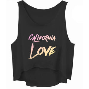California Love Cropped Tank Top - STYLEFOX®