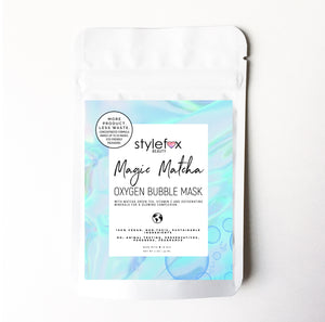 STYLEFOX BEAUTY Magic Matcha Oxygen Bubble Mask - STYLEFOX®