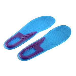 1 Pair Orthopedic Arch Support Massaging Silicone Anti-Slip Gel Insole - STYLEFOX®