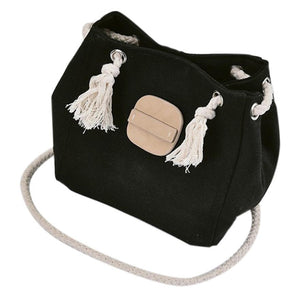 Canvas & Rope Beach Bag - STYLEFOX®