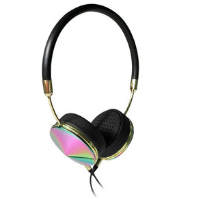 Metallic Headphones with Mic