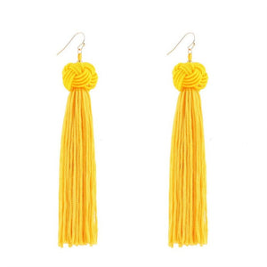 Bardot Tassel Earrings - STYLEFOX®