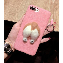 3D Corgi Butt iPhone Case
