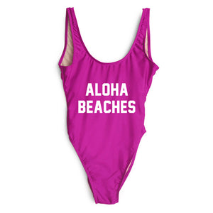 ALOHA BEACHES One Piece Swimsuit - STYLEFOX®
