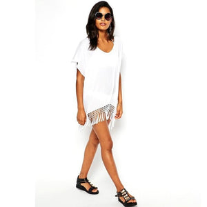 Caftan Tassel Swimsuit Cover Up - STYLEFOX®
