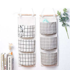 3 Pocket Hanging Accessory Storage Bag - STYLEFOX®