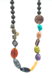 B, Melting Pot Necklace by Jen Stock