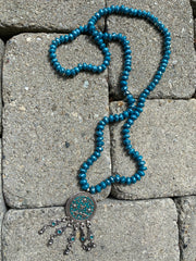 India Collection  || Enameled Sterling Silver Beaded Necklaces