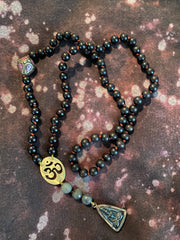 Signature Sterling Silver OM ©Goddess Necklace || Design with Jen