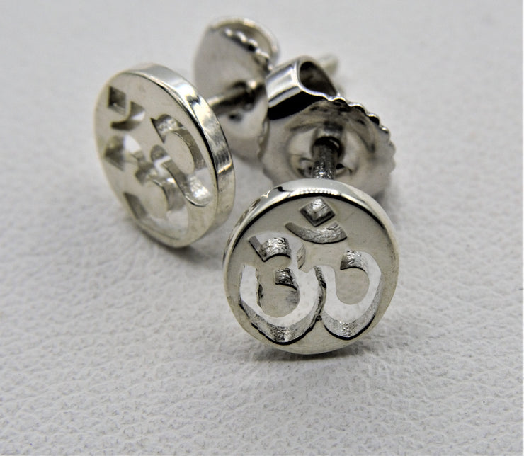 om earring post by jen stock