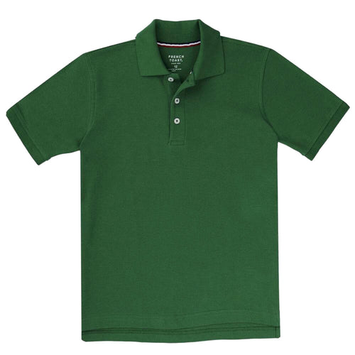 Short Sleeve Pique Polo Shirt  - Boys - Hunter