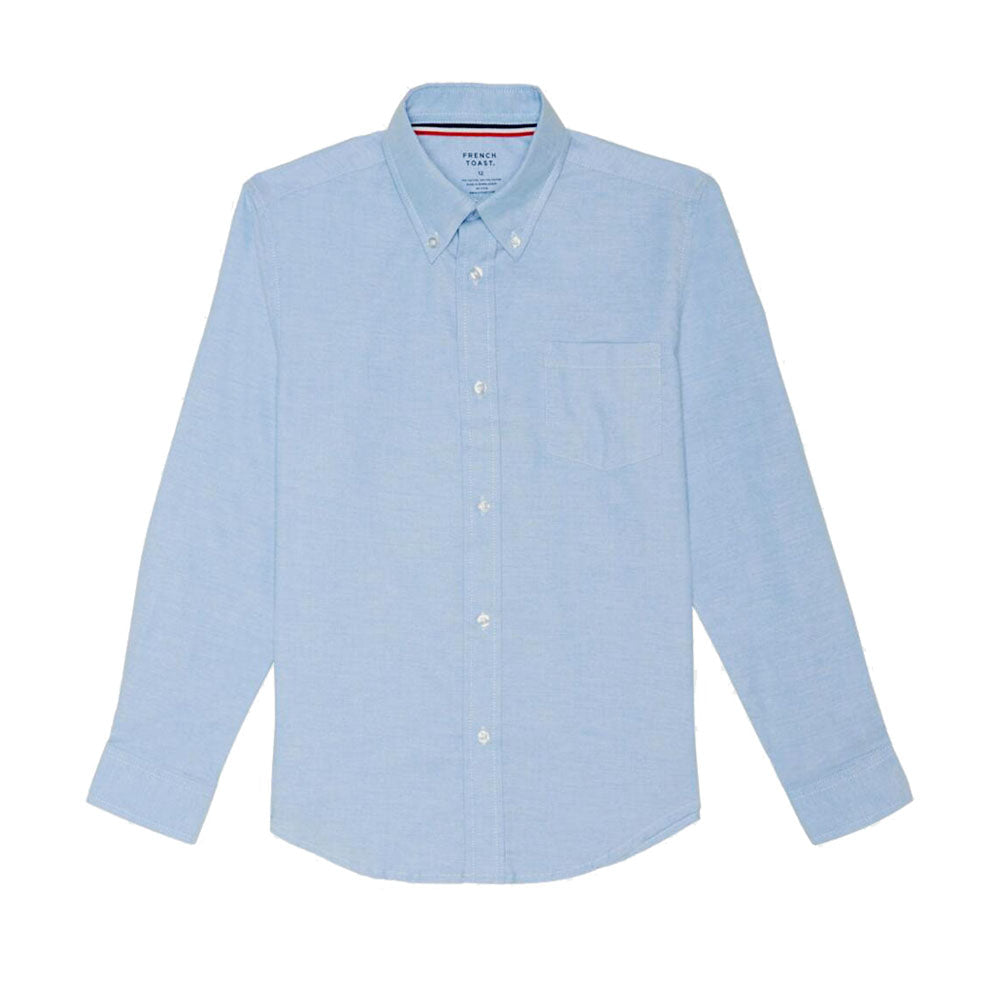 Oxford Long Sleeve Dress Shirt Boys Light Blue Kids For Less