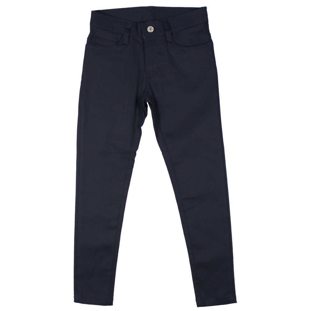 "Basic ""Pencil"" Skinny Pants - Girls - Navy"