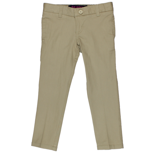 Basic Skinny Pants - Girls - Khaki