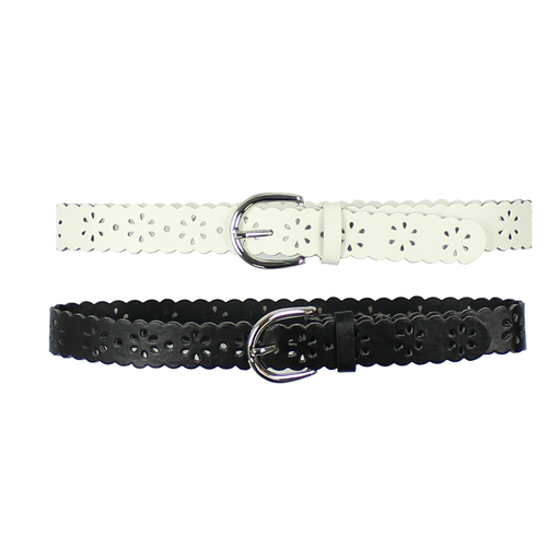2Pk Flower Fashion Girls Belt