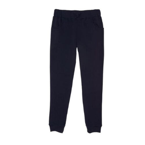 Fleece Pants - Girls - Navy