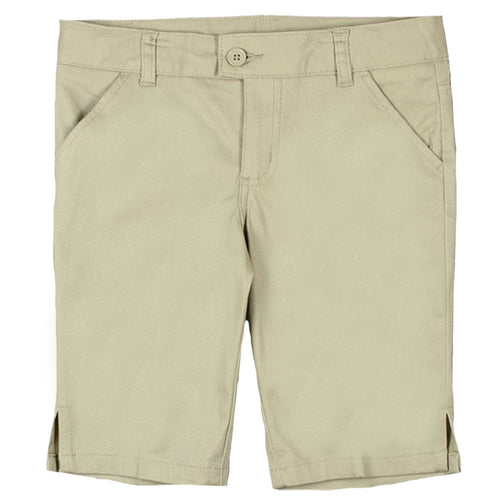 Bermuda Short - Girls - Khaki