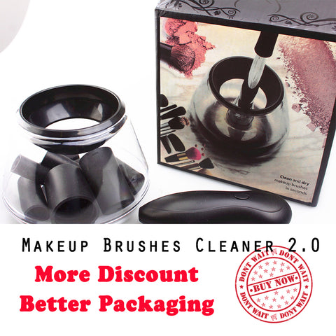 Image of Electric MakeUp Brush Cleaning Machine