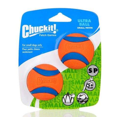 Image of familydoglovers.com - Pet Dog Rubber Pinball Two Balls And A Ball Packing Orange Rubber Resistance To Bite Molars Toys Pet Supplies