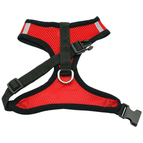 Image of familydoglovers.com - Soft Breathable Puppy Harness and Leash Set