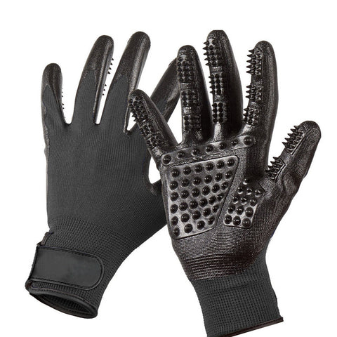 Image of De-shedding & Grooming Gloves - Left & Right (1 pair)
