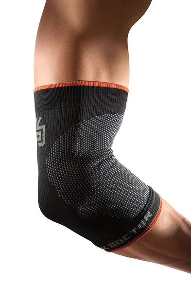 Shock Doctor SVR Compression Elbow Sleeve Black - Good Gear Hockey Equipment