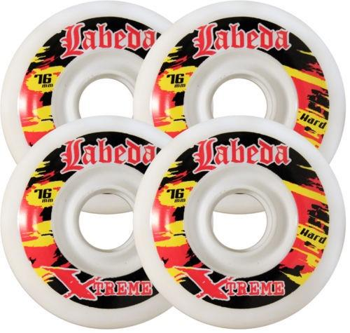 LABEDA XTREME HARD White4-Pack Inline Outdoor Hockey - Good Gear Hockey Equipment