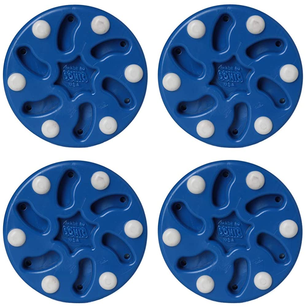 SONIC 4 Pack Roller Hockey Pucks