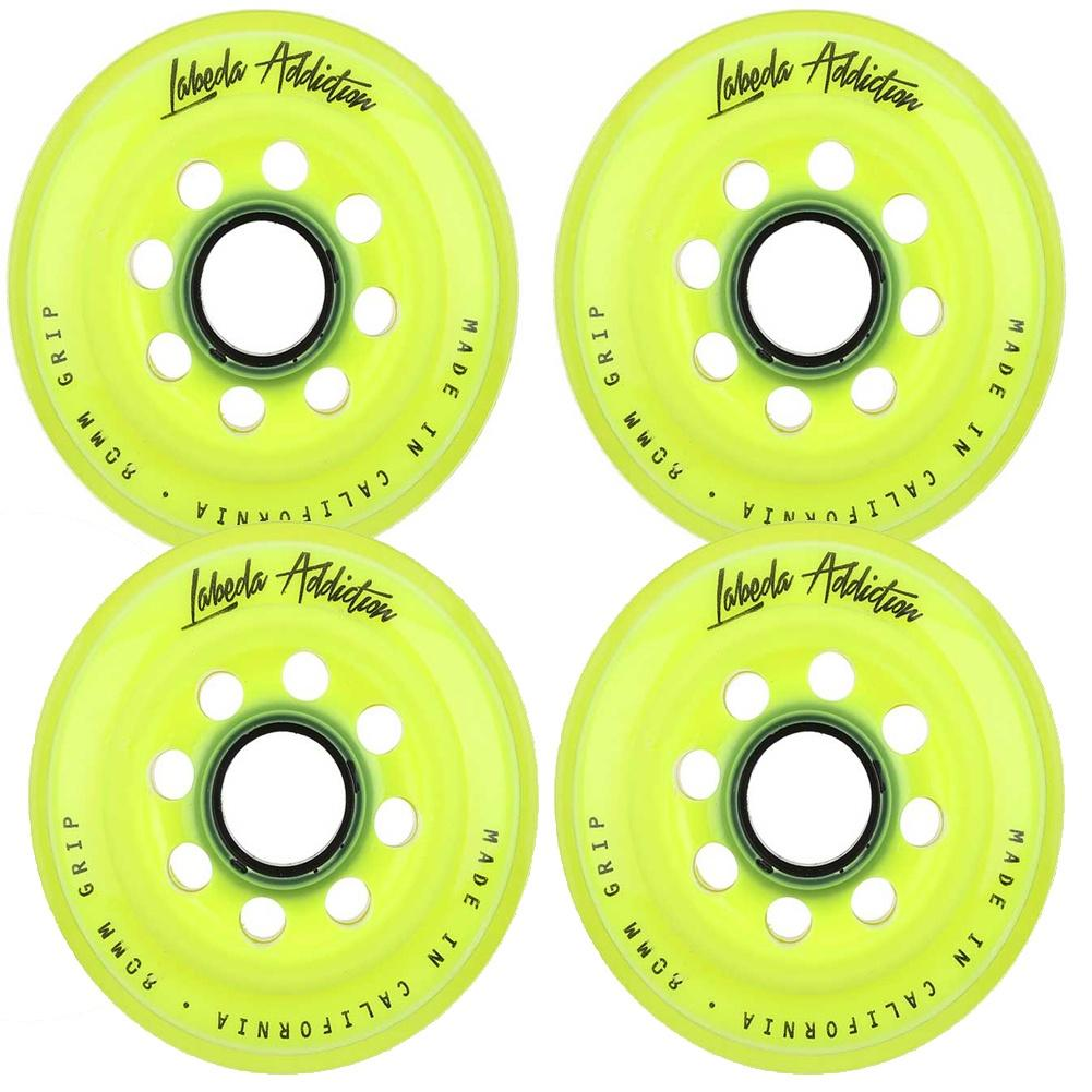 Labeda Addiction Inline Hockey Wheel 4 Pack - Good Gear Hockey Equipment