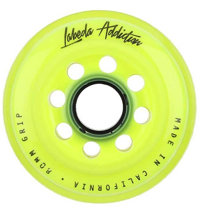Labeda Addiciton XXXGrip Yellow/White 72mm Single - Good Gear Hockey Equipment