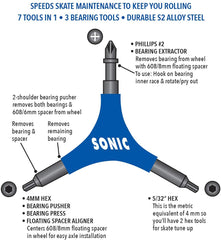 SONIC Pro Inline Skate Tool
