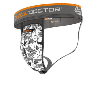 Shock Doctor Athletic Supporter Jock w/ Aircore Protective Cup - Good Gear Hockey Equipment