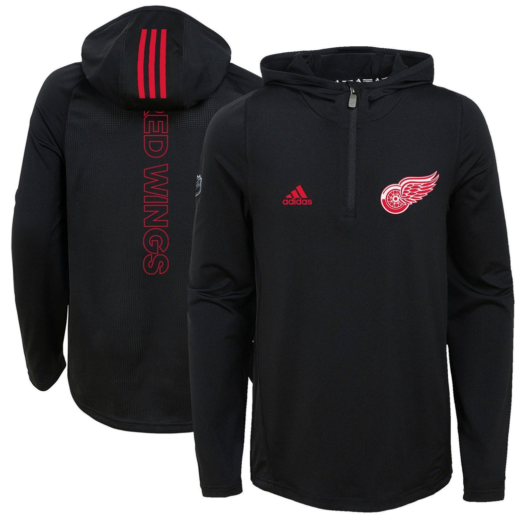 Adidas Hooded Training Jersey Detroit Redwings Adult - Good Gear Hockey Equipment