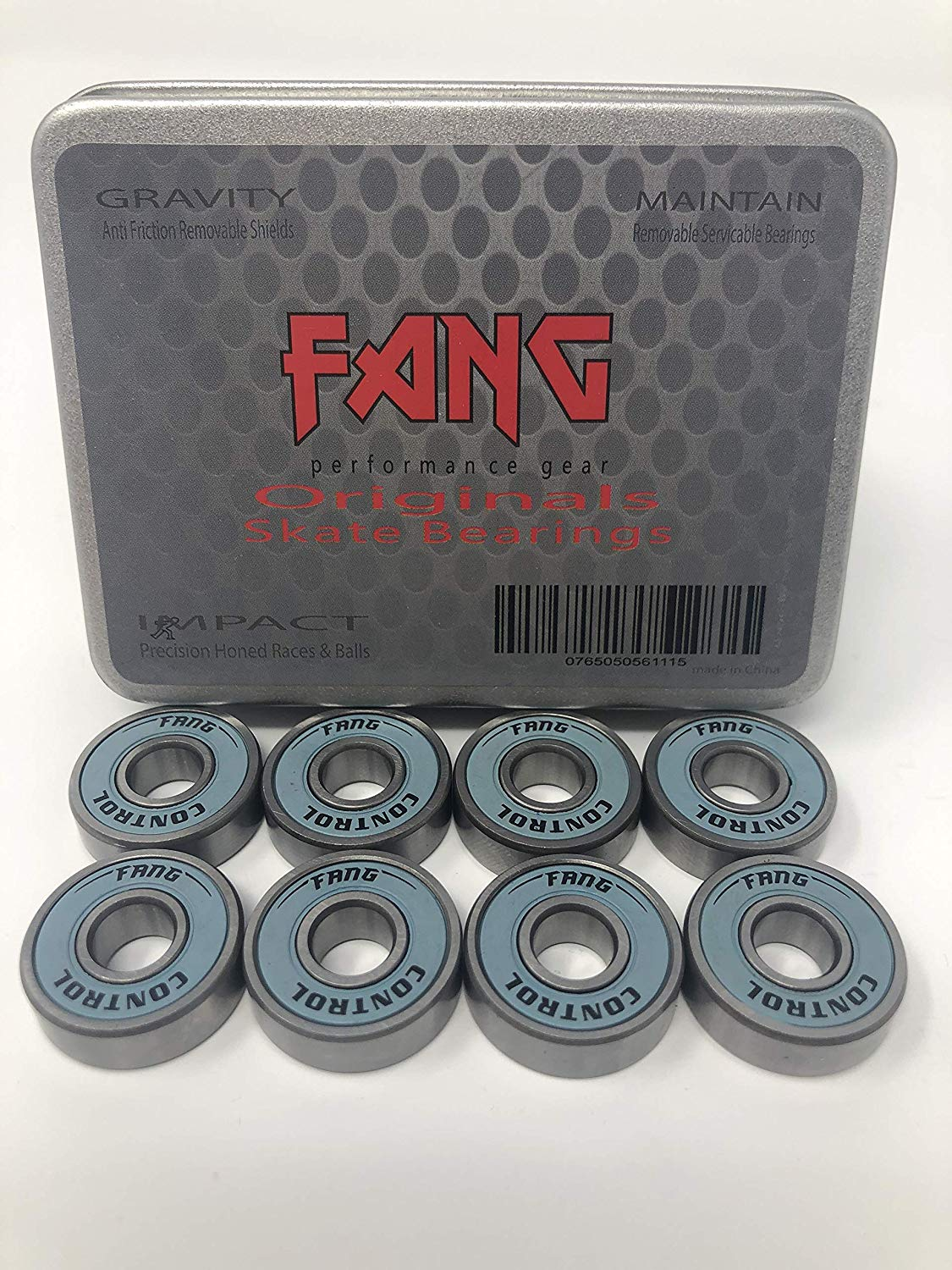 Fang Originals Longboard Skateboard Bearings 8 Pack