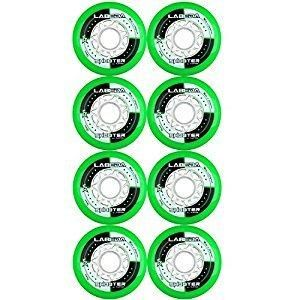 LABEDA WHEELS Inline Roller Hockey SHOOTER 8 Pack - Good Gear Hockey Equipment