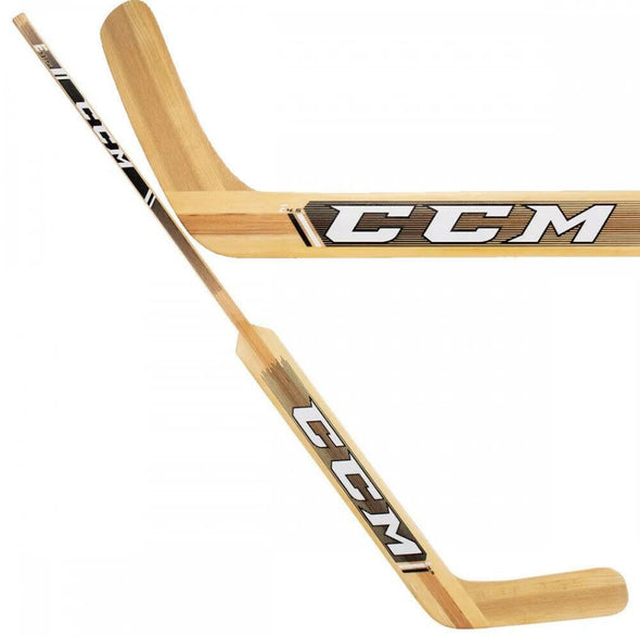 CCM EXTREME FLEX E4.5 Wood Goalie Stick/ PRICE (P1)/ HSE45P/ Natural / Black
