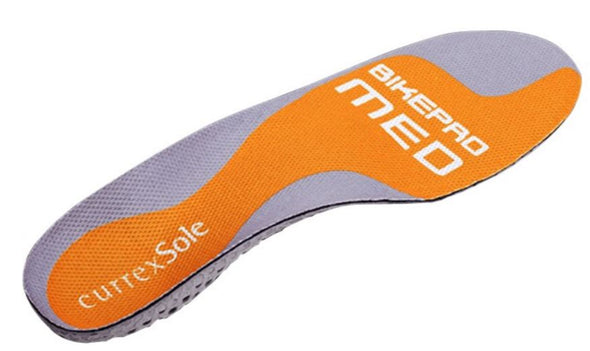 Currex Bike Pro Foot Insole Medium Arch (For Road, Mountain Biking, and Triathlon)