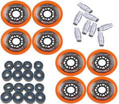 Combo Pack Labeda OutdoorWheels with Bearings and Spacers