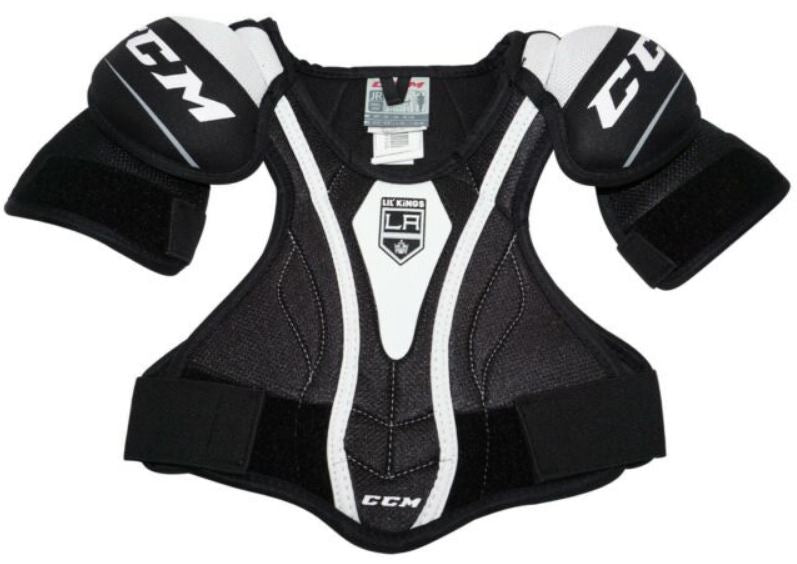 CCM Los Angeles Lil' Kings Youth Shoulder Pads