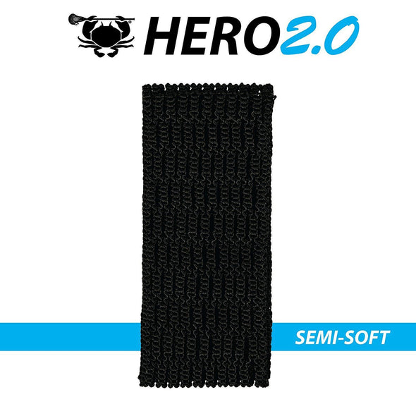 East Coast Dyes ECD Lax Hero2.0 Semi-Soft Lacrosse Mesh HeroMesh 2.0