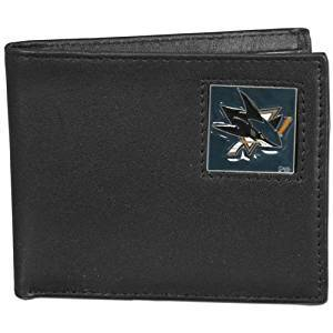 NHL  Genuine Leather Bi-Fold Wallet - Good Gear Hockey Equipment