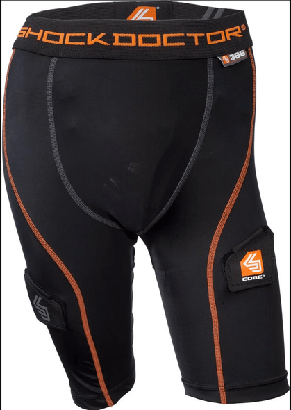 Shock Doctor 366 Core  Hockey Short Girls Pelvic - Good Gear Hockey Equipment