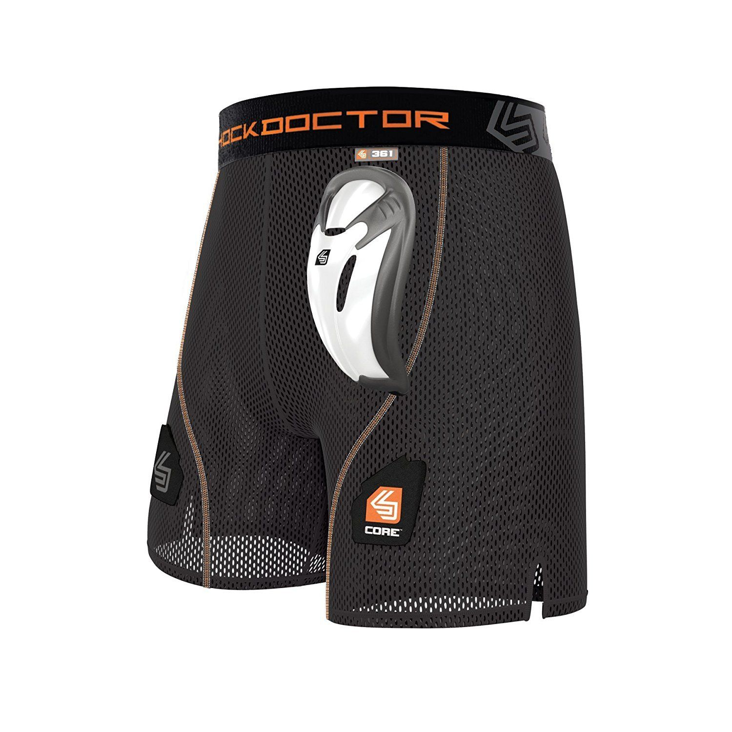 Shock Doctor 361 Core Loose Hockey Shorts Adult - Good Gear Hockey Equipment